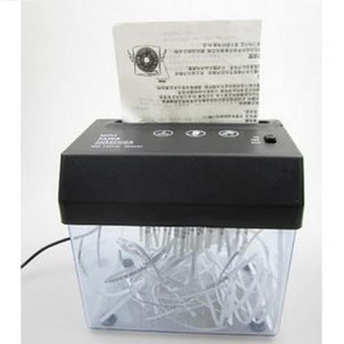 HOT PROMO Penghancur Kertas Otomatis Mini USB Paper Shredder P Murah