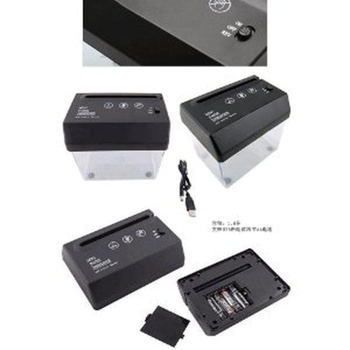 Mini USB Paper Shredder with Letter Opener (Penghancur Kertas Limited