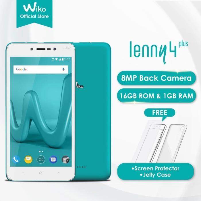 Wiko lenny4 plus bleen - 5.5  - 1gb/16gb - camera 8mp+5mp