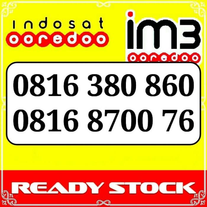 Nomor Cantik Im3 Kartu Perdana Indosat Im3 Ooredoo 4G LTE Angka Rapih