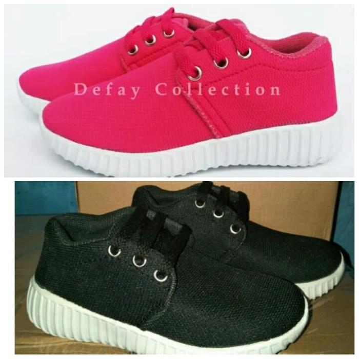 harga Sepatu sekolah anak tk sd sepatu kets sneakers anak perempuan cewek Tokopedia.com