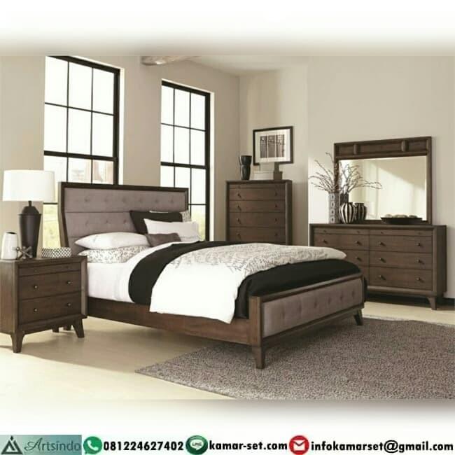 Jual Tempat Tidur Jati Desain Retro Minimalis Modern Kab Jepara Artsindo Tokopedia
