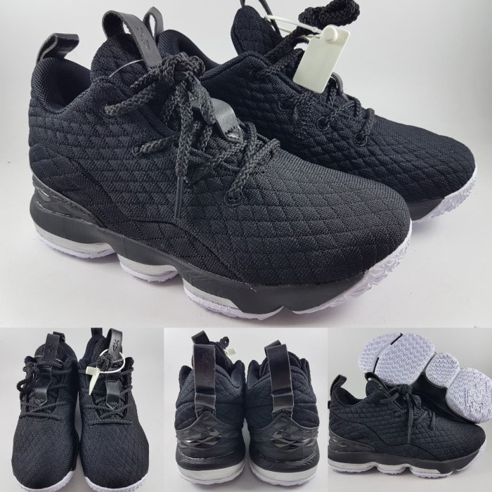 online store f7252 96d1a Jual Sepatu Anak Nike Lebron XV 15 Low Kids Black Ice Hitam - Kota Bandung  - BladeMazter Corp.   Tokopedia