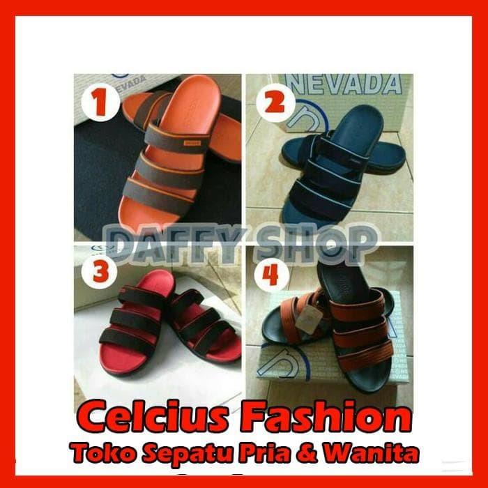 Sandal Pria Nevada Oranye - Info Daftar Harga Terbaru Indonesia fc3c83262e