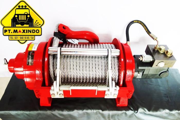 harga Runva hydraulic winch hwp-20000-y1p kapasitas 9 ton (20.000 lbs) Tokopedia.com