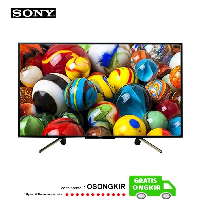 harga Sony bravia kdl-50w660f led smart tv 50 inch full hd - seri 2018 Tokopedia.com