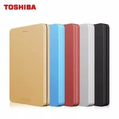 HARDISK EKSTERNAL TOSHIBA CANVIO ALUMY 1TB HDD HARD DISK EXTERNAL