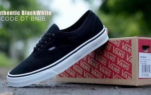 Sepatu Casual Pria Kuliah Santai Vans Bnib Kualitas Import Waffle Dt ced9441aec