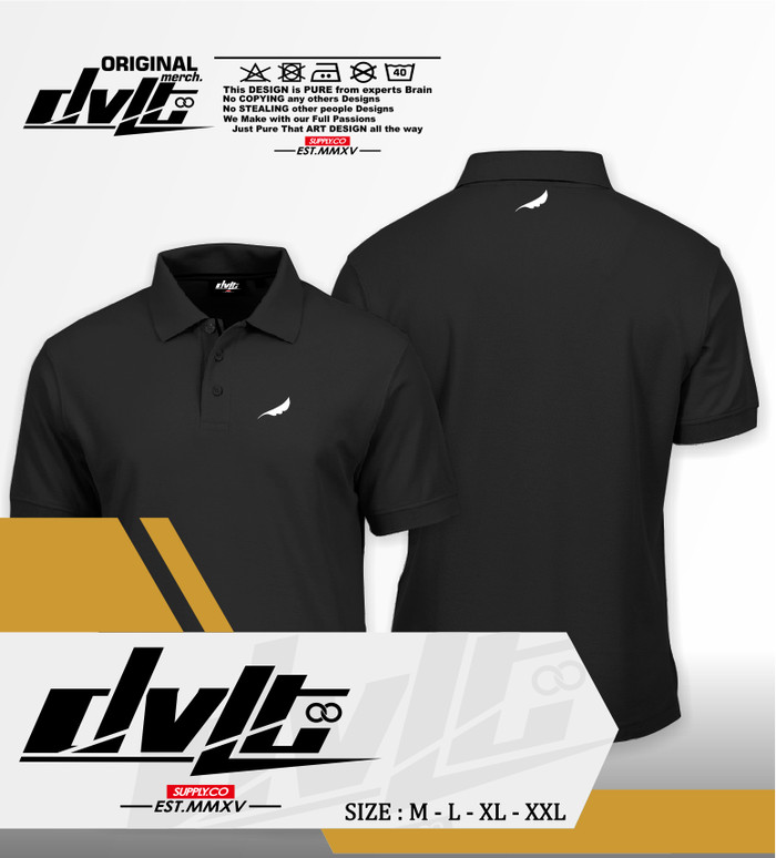 (TERBARU) Poloshirt / Kaos Polo Musik Noah Band Wings Logo Murah