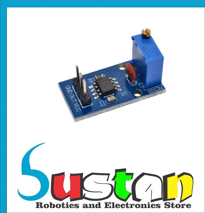 Jual NE555 Adjustable Frequency Pulse Generator Module 5V - 12V for Arduino  - Kota Bandung - bustan   Tokopedia
