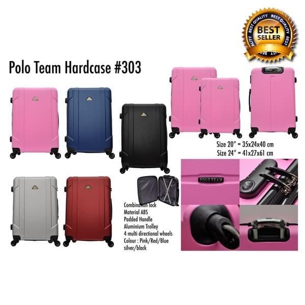 Kupit collection Polo City Tas Koper Hardcase size 24 inch 303
