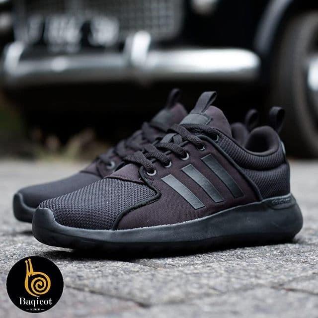 Jual Sepatu Adidas Cloudfoam Lite Racer All Black (100% ORIGINAL) - Kota  Tangerang - BAQICOT STORE | Tokopedia