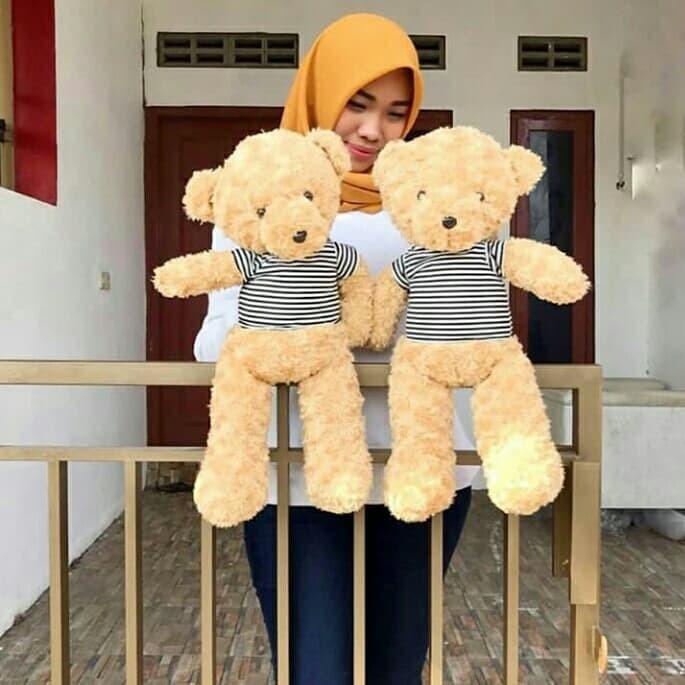 Cute Lamb Stuffed Animals, Jual Boneka Teddy Bear Ukuran 50 Cm Kab Sleman Rumah Boneka Tokopedia