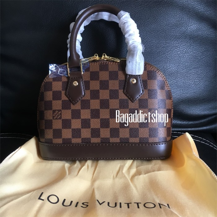 ce9eb0f28dc7 Jual Jual Tas Louis Vuitton Lv Alma mini BB Damier Mirror 1:1 VIP ...