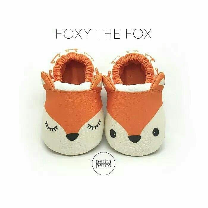 Informasi Harga Promo Sepatu Bayi Prewalker Rubah Baby Shoes Petita PetitoSpotharga.com .