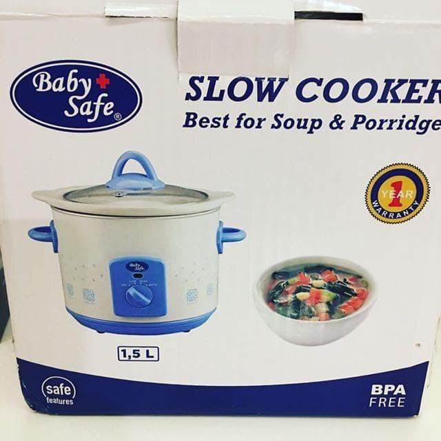 Babysafe Slow Cooker Best For Soup & Porridge - Blanja.com .