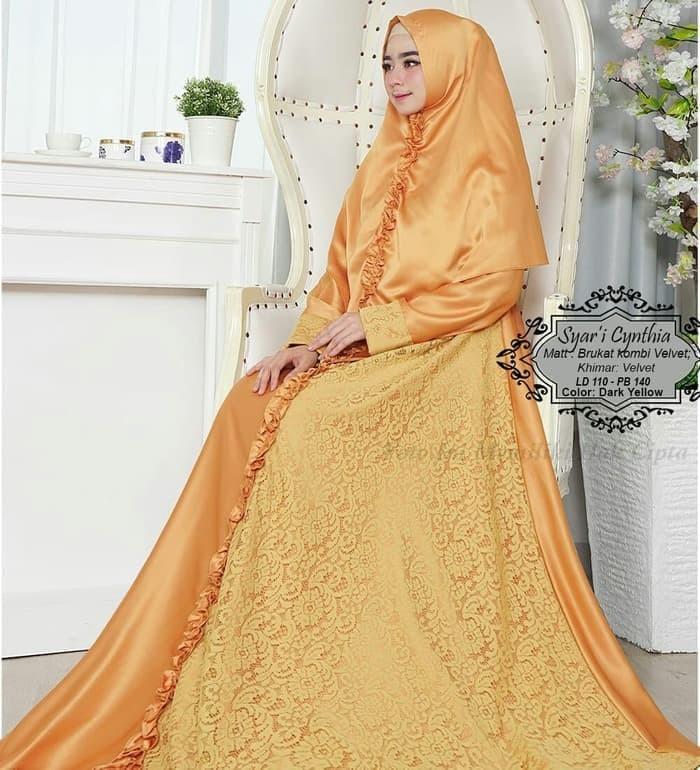 Features Gamis Syari Asifa Series X Busana Muslim Best Seller Khimar Source · terbaru baju muslim wanita modern 122676 GAMIS SYARI CYNTHIA YELLOW
