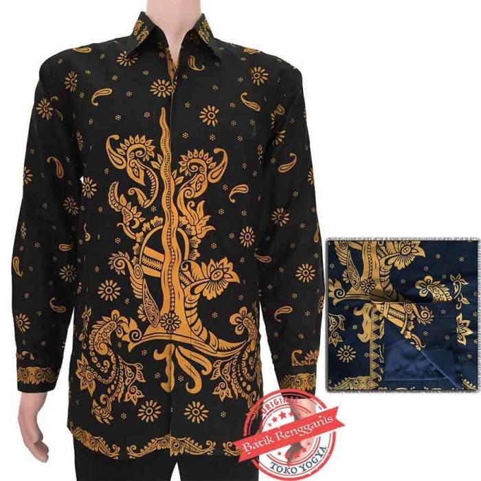 Kemeja furing batik pola exclusive motif keris 6121 db8104300e