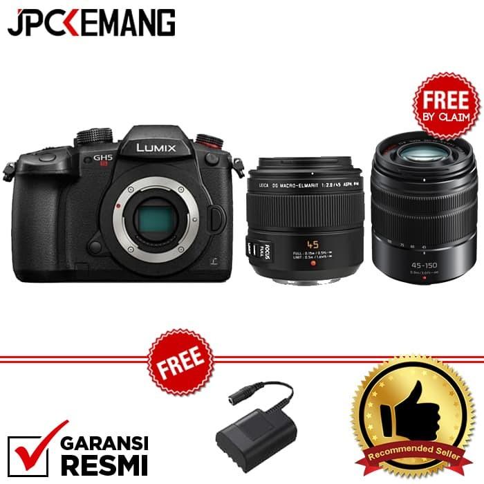 harga Panasonic lumix dc-gh5s + panasonic leica 45mm f/2.8 Tokopedia.com