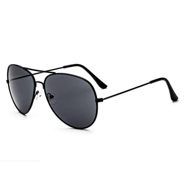 Foto Produk kacamata hitam fashion aviator sunglasses jgl074 - Hitam dari Oila