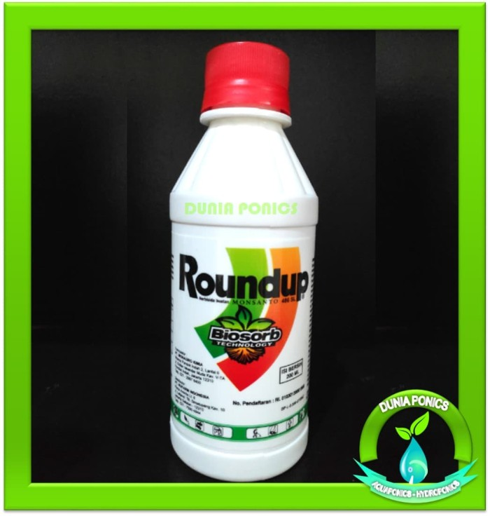Herbisida PEMBASMI RUMPUT LIAR / GULMA Roundup 486 SL 200 ml