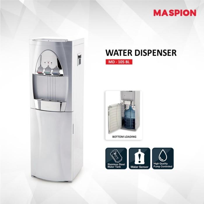 harga Maspion uchida water dispenser md-105 bl ( jabodetabek ) Tokopedia.com