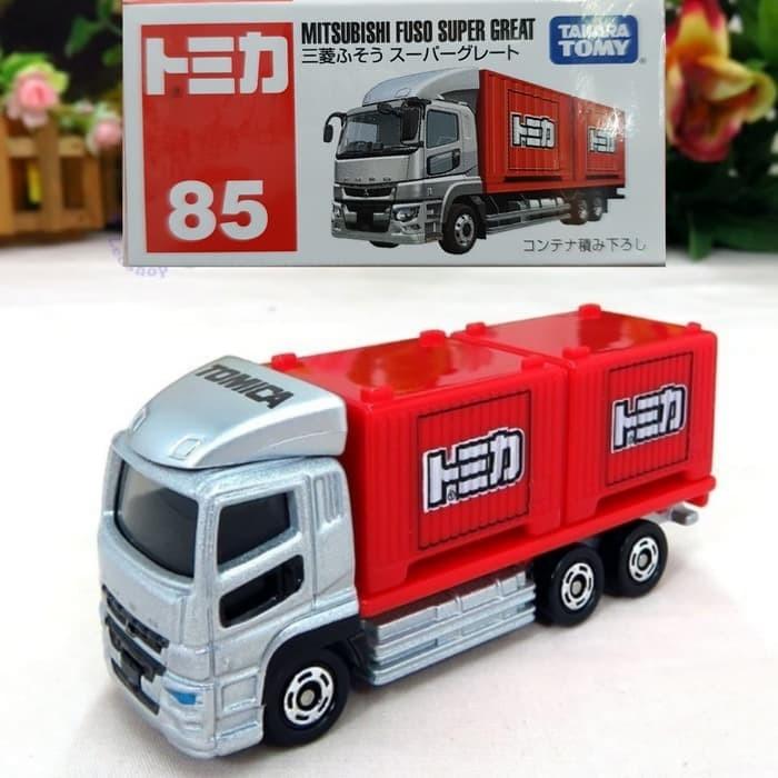 harga Tomica 85 mitsubishi fuso super great miniatur truck container Tokopedia.com
