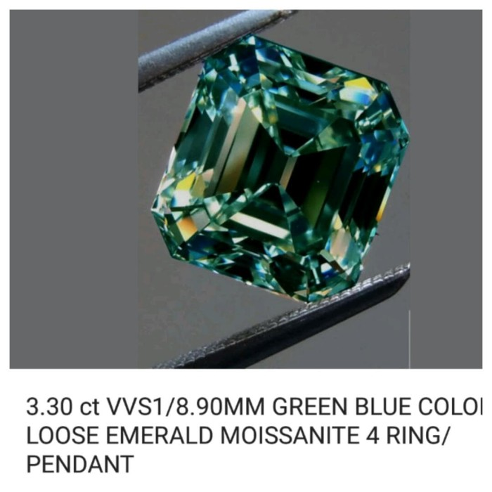 harga Emerald moissanite Tokopedia.com