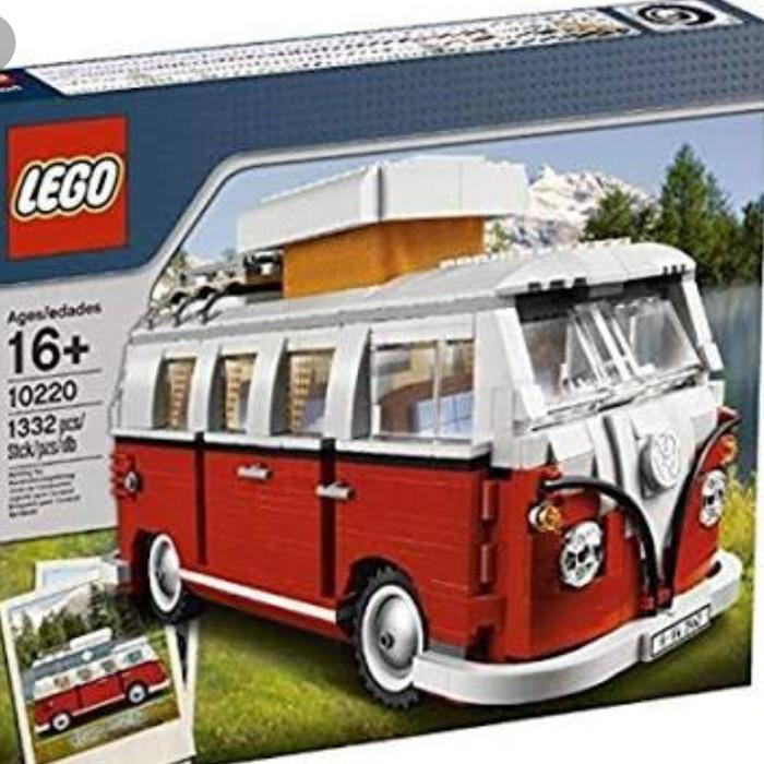 Vw Camper Van >> Jual Lego 10220 Creator Vw Camper Van Jakarta Utara Kingdom Bricks Tokopedia