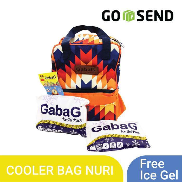 harga Gabag nuri tas popok/ diaper & cooler bag pop series free 2 ice gel Tokopedia.com