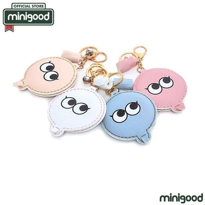 Foto Produk minigood cermin lipat putih big eyes kecil gantungan kunci / tas 75540 dari TOKO CHINDO BAGUS