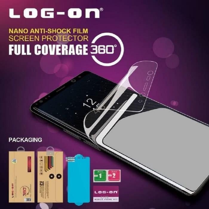 LOG-ON SAMSUNG S8 PLUS ANTI BREAK SHOCK ANTI GORES JELLY FULL CURVED