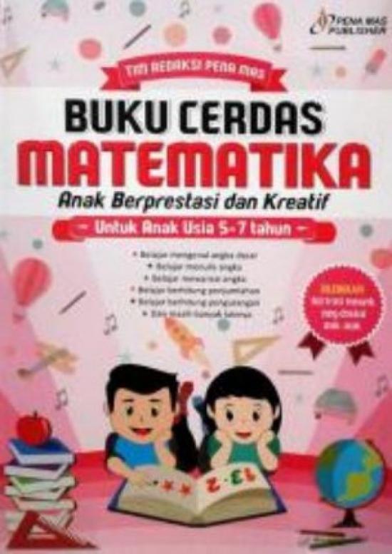 Ori Buku Cerdas Matematika Anak Berprestasi Dan Kreatif Buku Matemati