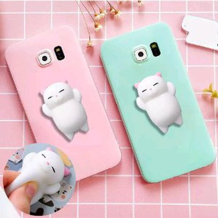 New Case Advan i5C Duo Soft Case Squishy Cantik dan Lucu Advan