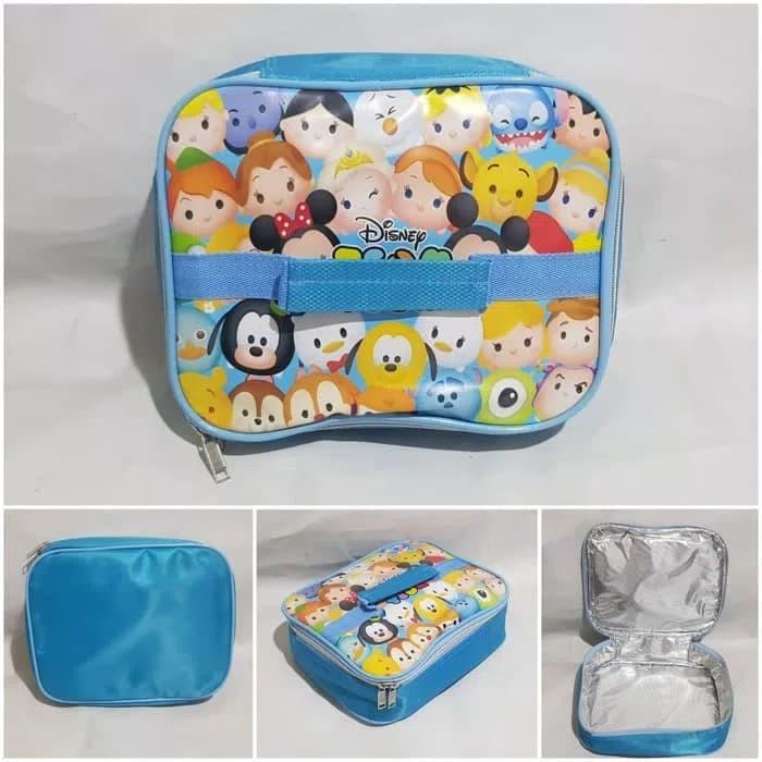 harga Lunch box aluminium foil tahan panas/dingin tsum tsum biru Tokopedia.com