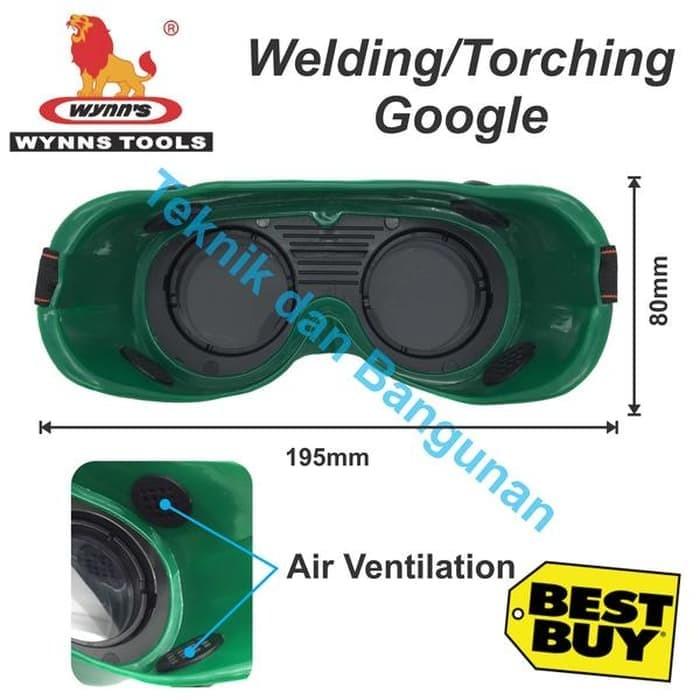 New Welding Google/ Torching Google Wynn's W2865