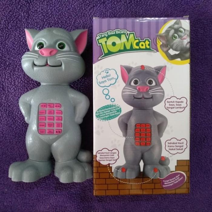 harga My talking tom cat - mainan inteligen   interaktif kucing tom  Tokopedia.com d05e302d70
