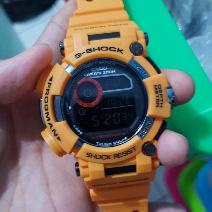 Jual Jam Casio G-Shock Frogman GWF-1000 Kuning - QQ.WATCH  277b963163