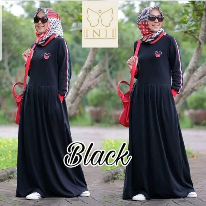 KHAIRA MAXI ST / gamis sport / baju muslim / long dress / dress wanita