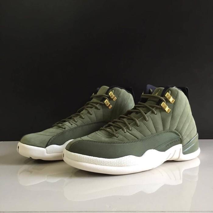 san francisco d7645 0f506 Jual Nike Air Jordan 12 Chris Paul Olive Green(Real Pict) Premium Grade Ori  - DKI Jakarta - EmbunpagiSneakers | Tokopedia