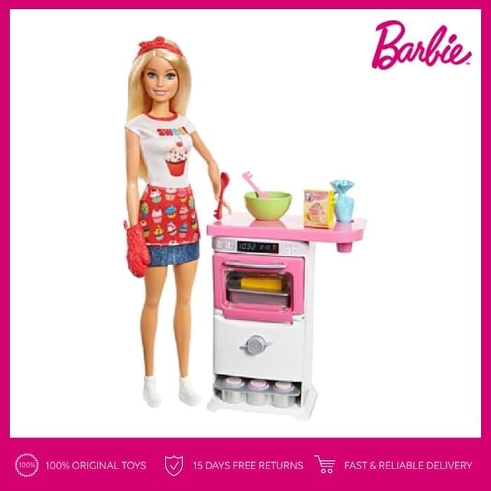 Jual Barbie Bakery Chef Doll And Playset Boneka Permainan Toy Anak Kota Medan Ever Shopp Tokopedia