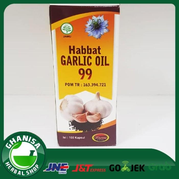 the best and good item Habbat Garlic Oil 99 Kharisma Isi 100 Kapsul