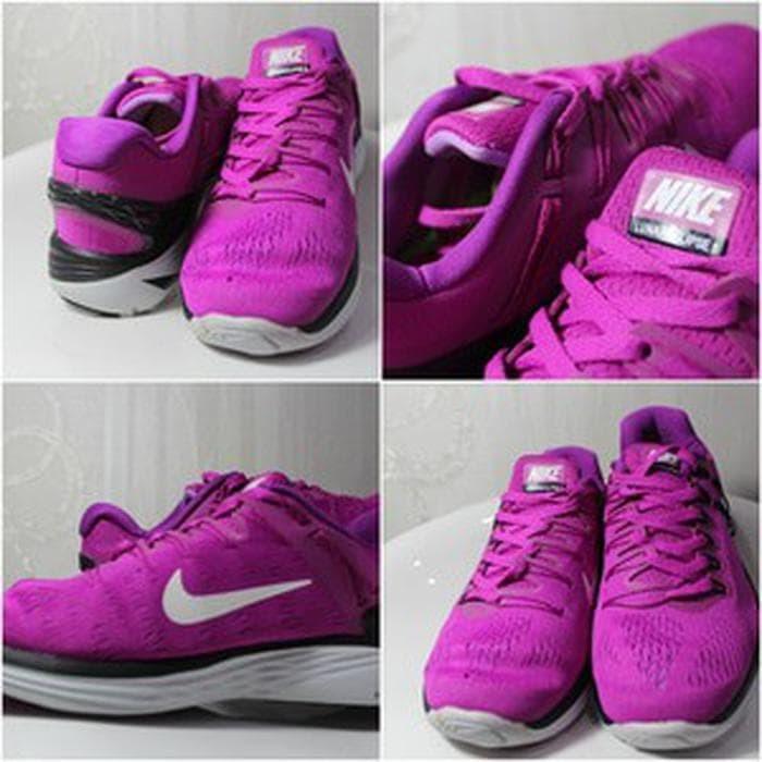 discount 1c5e5 cf140 Sepatu Nike LunarEclipse 5 Fuchsia Glow Pure Platinum 4 Berkualitas