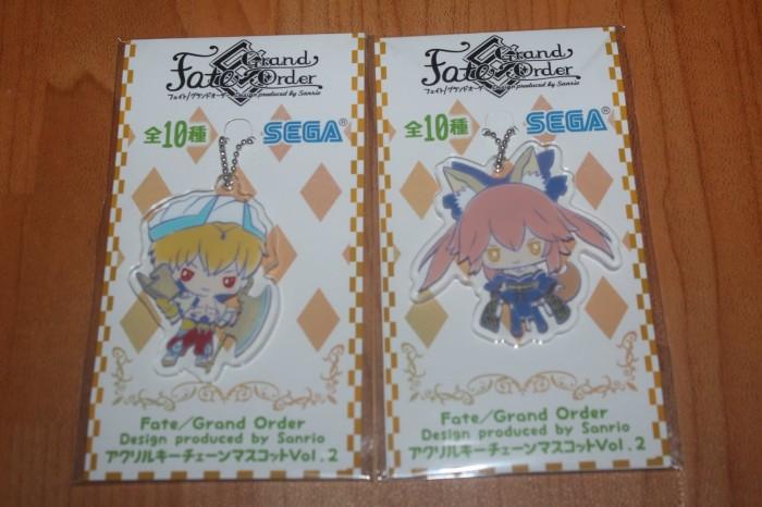 Fate Grand Order X Sanrio Karna Rubber Key Chain