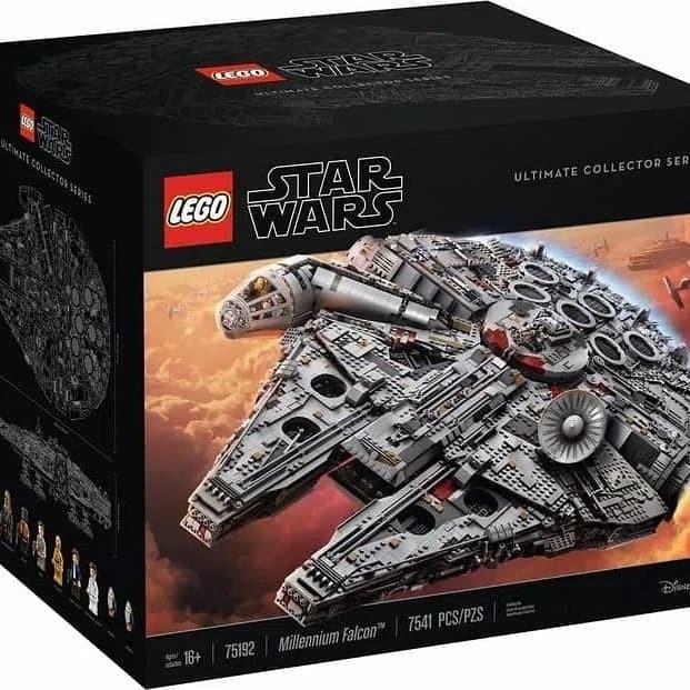 Jual Lego Star Wars Ucs Millennium Falcon Ultimate Collector 75192