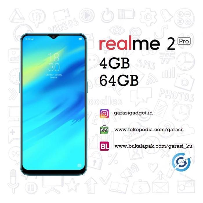 harga Oppo realme 2 pro 4gb 64gb garansi resmi - black sea Tokopedia.com