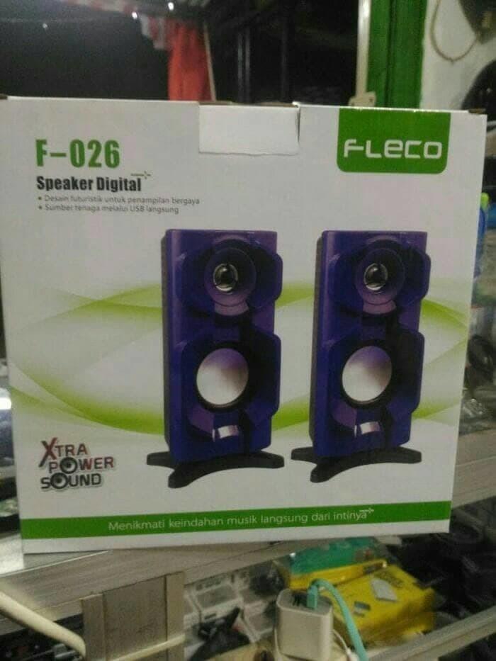 Speaker Fleco F 026 X Bass /Speaker Aktif Komputer FLECO F026