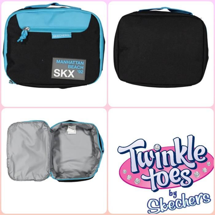 Jual Skechers lunch bag anak pink blue - inissashop  2b9ef2d700