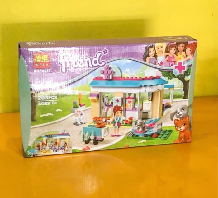 Jual Lego Friends Pet Hospital Kota Bandung Snowpatootie Tokopedia