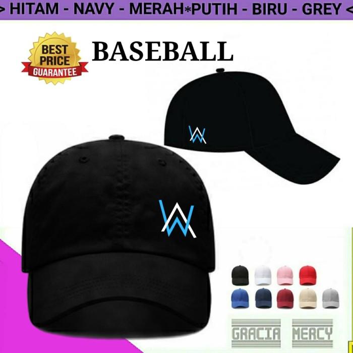 Costum Topi Baseball Alan Walker Hitam - Daftar Harga Penjualan ... c085480ec5